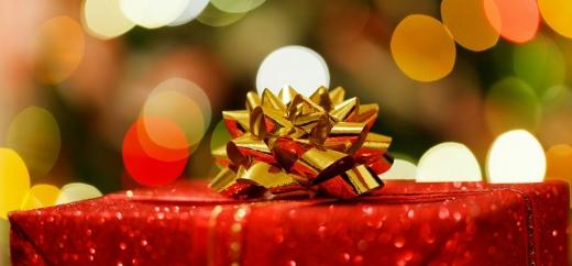 Egy karácsonyi doboz.