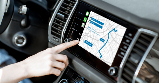 GPS az autóban