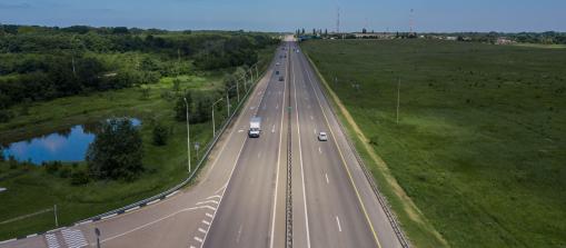Német autópálya felülről