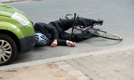 baleset, biciklis, biztosítás